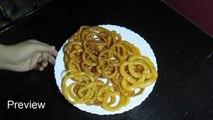 Jalebi Recipe - How to Make Instant Crispy Jalebi - Dessert Recipe