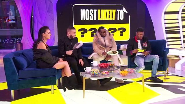 Diddy & French Montana Test Their Knowledge of Each Other  Most Likely To  TRL Weekdays at 4pm