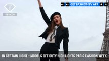 In Certain Light Presents Models Off Duty from Paris Fashion Week A/W 2017 | FashionTV | FTV