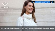 In Certain Light Presents Models Off Duty from Paris Fashion Week S/S 2018 | FashionTV | FTV