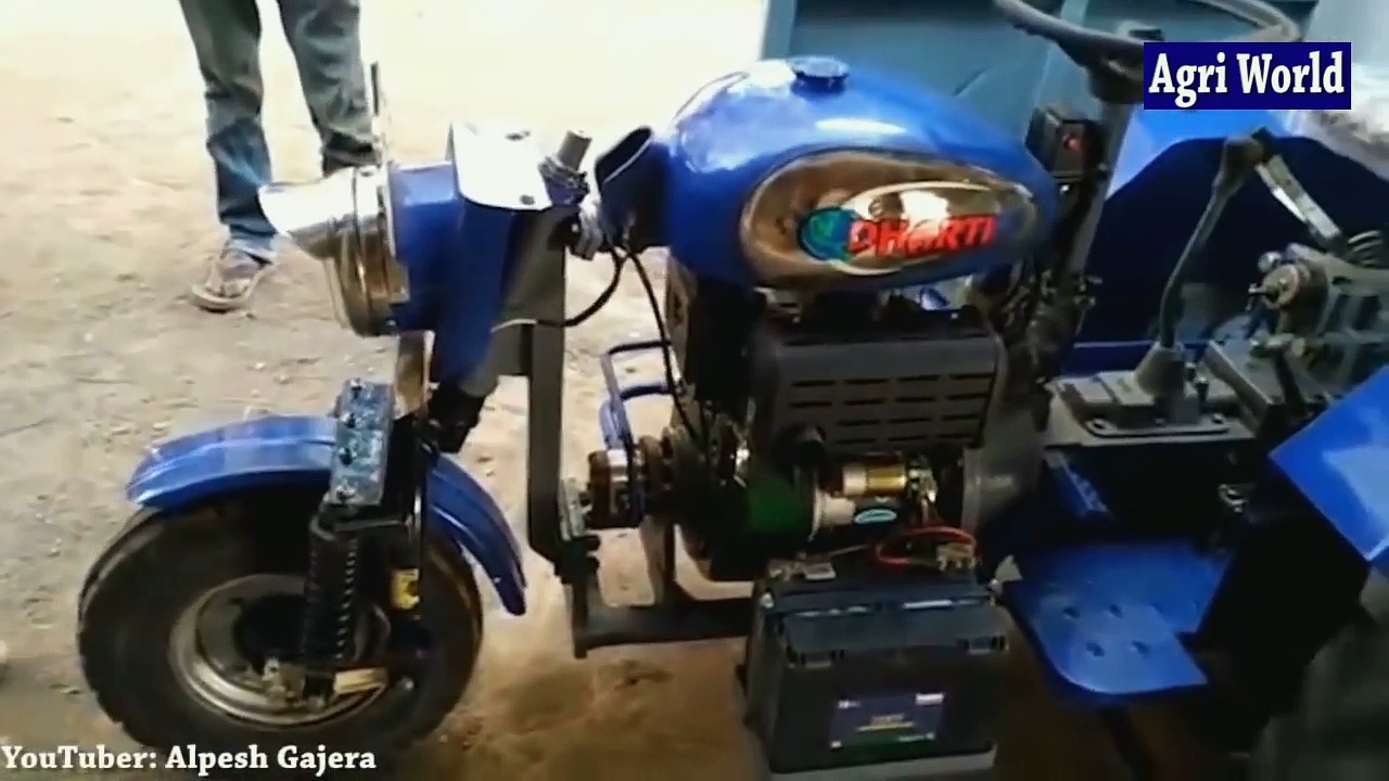 Homemade Tractor- Motorcycles