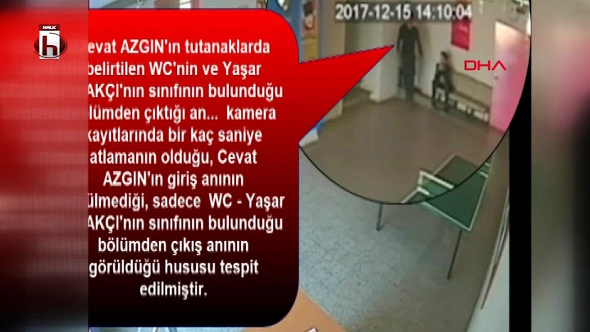 Okul müdürünün öğrencisi tarafından vurularak öldürüldüğü olayın görüntüleri ortaya çıktı