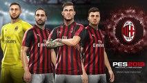 PES 2019 - Trailer AC Milan