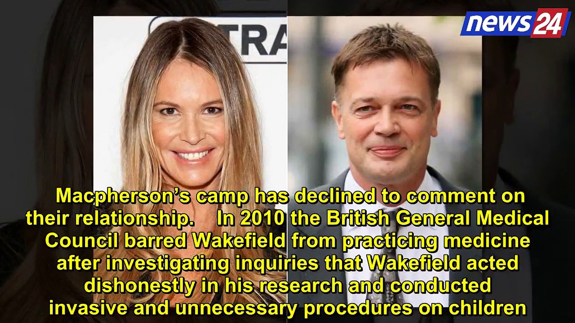 Latest breaking news of the world!!Elle Macpherson & Disgraced Doctor Beau Brought Together by T
