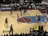 NBA BASKETBALL Ben Wallace Blocks Artest