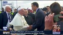 """Homosexualité: """"Quand cela se manifeste dès l'enfance, il y a beaucoup de choses à faire par la psychiatrie"""" estime le pape"""