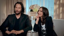 """Keanu Reeves on Winona Ryder: """"I Mean We Like Each Other"""""""