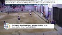 Demi-finales M1, France Simple, Dardilly 2018