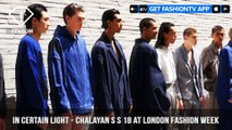 In Certain Light Presents Chalayan S/S 2018 at London Mens Fashion Week | FashionTV | FTV