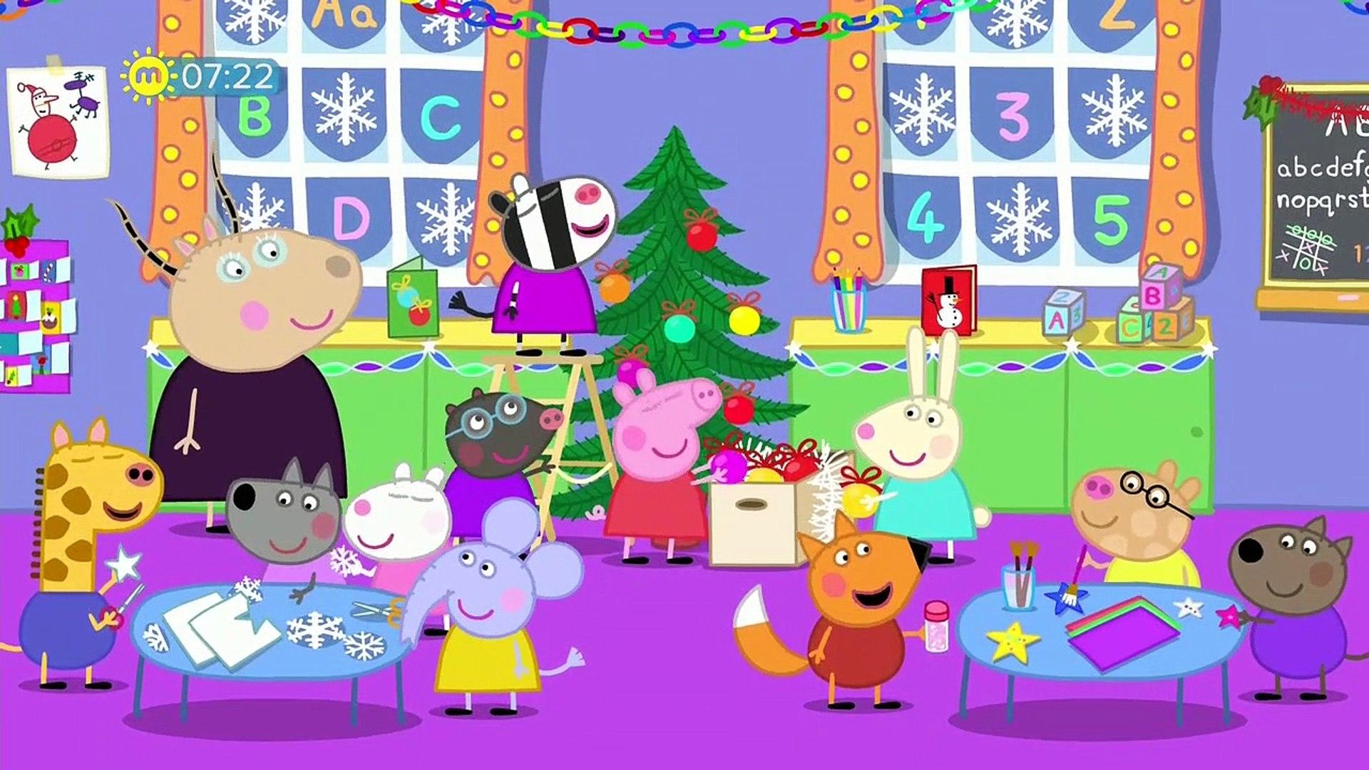 Peppa Pig Christmas.Peppa Pig S05e32 Father Christmas