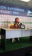 Réactions d'après match : AB / SMR - Christophe Laussucq