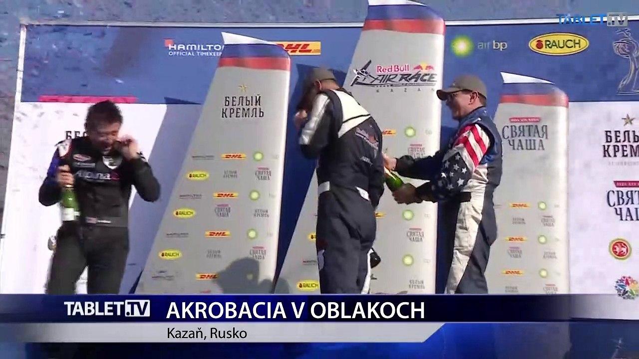 Závod v akrobatických letoch v Kazani vyhral český letec Martin Šonka