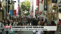 Data on Korea's population affected by chronic issues of low birthrate, rapidly aging population