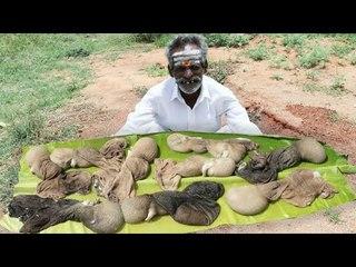 Intestine Gravy prepared by my Daddy Arumugam / Village food factory