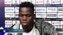 Avant HAC - Brest en Coupe de la Ligue, interview de Jamal Thiaré