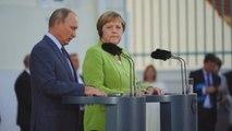 Merkel y Putin retoman en Berlín agenda de Sochi centrados en Ucrania y Siria