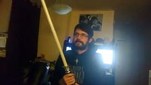 Was this #lightsaber worth the $752 a Star Wars fan paid for it? Wait till you see what it can do!