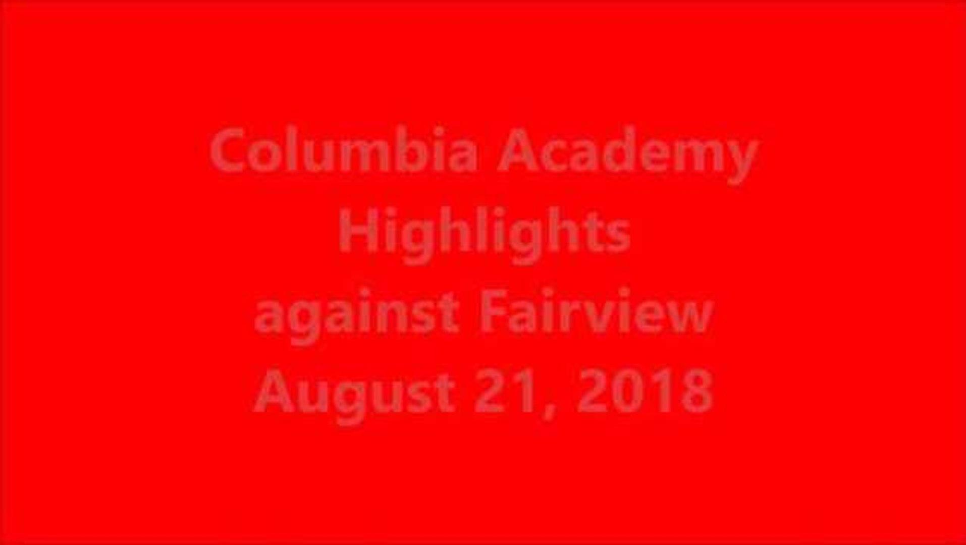Columbia Academy soccer