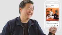 Ken Jeong Insta-Stalks His Crazy Rich Asians Castmates