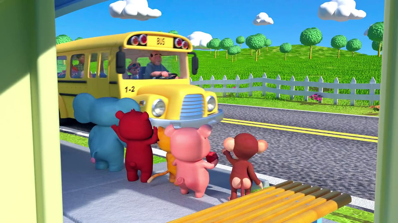 Wheels On The Bus Cocomelon Abckidtv Nursery Rhymes Kids Songs Video Dailymotion