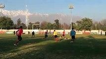 ¡A trabajar bien, #LaRojaSub20 ⚽️!Siguen los trabajos del equipo de Héctor Robles en Quilín.La próxima semana, el campeón de #Cocha2018  toma el avi