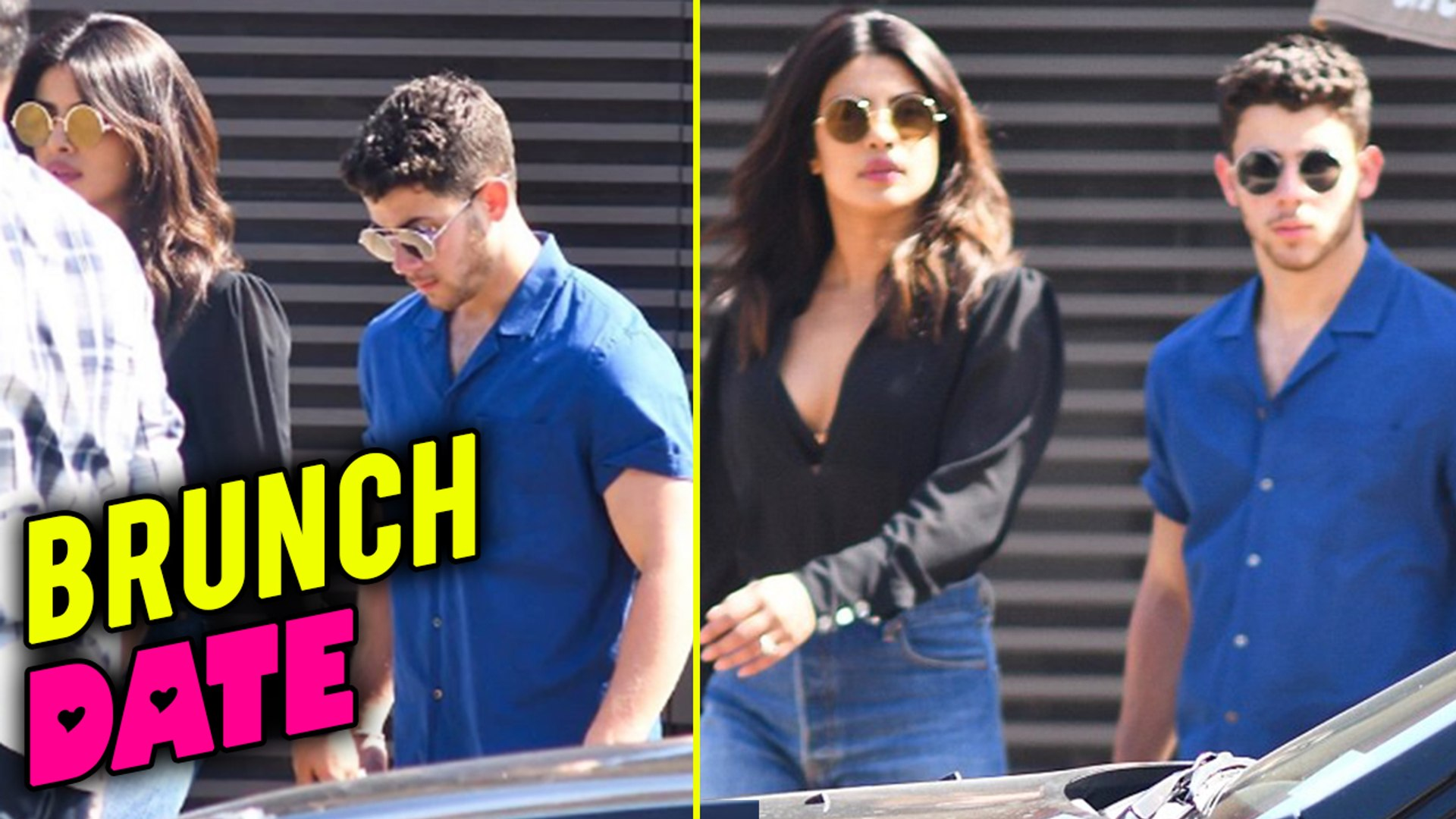Priyanka Chopra and Nick Jonas Meet Over A Brunch Date In Malibu, US