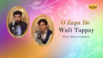 O Zapa Be Wali Tappay - Wazir Khan And Saddam - Pashto Hit Songs