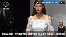 Blumarine Spring/Summer 2018 Fashion Show Highlights Milan Fashion Week | FashionTV | FTV