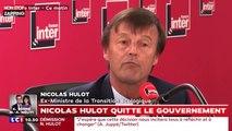 Nicolas Hulot : le ministre de la Transition écologique quitte le gouvernement (Vidéo)