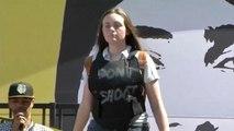 Etats-Unis : un défilé de mode pour enfants pour dénoncer les armes à feu