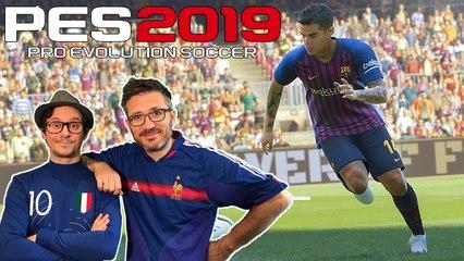 On vous présente PES 2019 en version finale, football Champagne ?