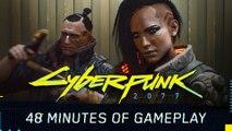CYBERPUNK 2077 | 50 Minutes 4K Gameplay Walkthrough (Gamescom 2018)