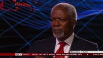Kofi Annan- Former UN chief and Nobel Peace Prize laureate - BBC News
