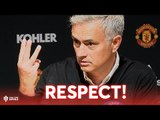 Respect! Respect! Respect! Mourinho's Press Conference Manchester United 0-3 Tottenham Hotspur