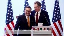 Estados Unidos y México llegan a un acuerdo comercial, se reemplazará el TLCAN