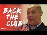 BACK THE CLUB! Manchester United 0-3 Tottenham Hotspur