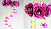 [ Handmade ] - Wind Chime with Beautiful Paper Roses- Craft