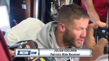 Julian Edelman on ACL injury recovery, looming suspension