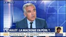 """Démission de Hulot: le """"en même temps"""" de Macron """"a pris un coup énorme"""", selon Bruno Jeudy"""