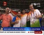 Asian Games 2018: Javelin thrower Neeraj Chopra wins Gold, makes history