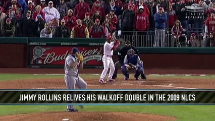 Jimmy Rollins Relives His Walk-Off Double in Game 4 of the 2009 NLCS