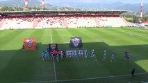 Résumé AC Ajaccio - FC Lorient (0-1) Coupe de la Ligue T2 [2018-2019]