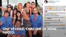 """PHOTO. """"Que de l'amour"""" : le message plein de tendresse des amies de Laeticia Hallyday"""