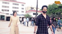 Shahid Kapoor & Shraddha Kapoor during the promotions of Batti Gul Meter Chalu  -  Juhu