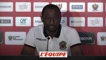 Vieira «Ce match sera un très bon test» - Foot - L1 - Nice