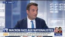 """Immigration: """"Salvini et Orban écoutent peut-être un peu plus leur peuple que Macron"""", estime Philippot"""