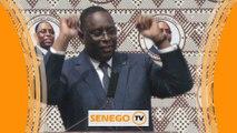 Le président danse et crie victoire avant le combat