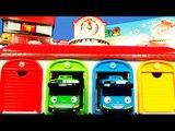 꼬마버스 타요 Tayo 중앙차고지 놀이 & 월드카 소방본부 말하는 꼬마버스 타요 Tayo the Little Bus Toy, Маленький автобус ТАЙО Игрушки