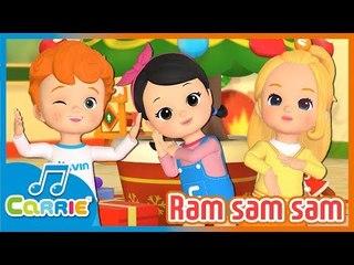 [키즈 동요] 램샘샘 Ram sam sam | 캐리앤 송