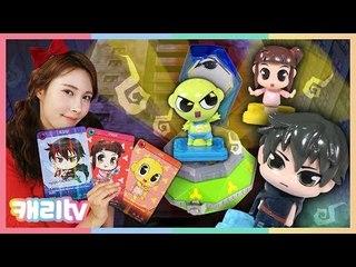 [장난감] 신비아파트 고스트볼X 블루와 강림&하리 스페셜 세트 장난감 놀이